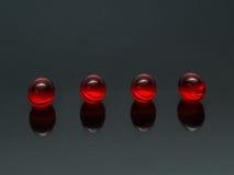 10 pills Royaltyfri Fotografi