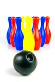 10 Pin-Bowlingspiel Lizenzfreie Stockfotografie