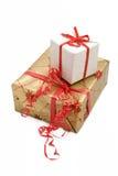 10 pudełek prezent Obraz Royalty Free