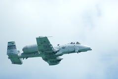 A-10 rayo II en Singapur Airshow 2010 Imagen de archivo libre de regalías