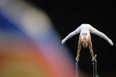 10 relativi alla ginnastica Immagine Stock