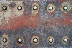10 remaches Foto de archivo libre de regalías