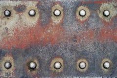 10 rivets Photo libre de droits