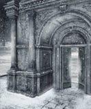 10 scenerii zima Obrazy Royalty Free