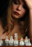 10 schackstycken Royaltyfri Bild