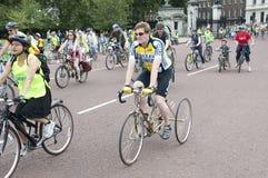 10 seigneur maire de Skyride de Londres Photographie stock libre de droits