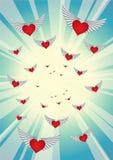 10 serce Zdjęcia Royalty Free