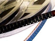 10 serie för filmrulle Arkivbilder