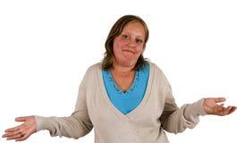 10 shoulders shrug Στοκ φωτογραφίες με δικαίωμα ελεύθερης χρήσης