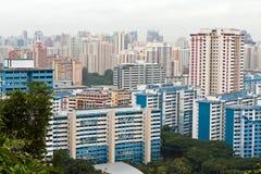 10 singapore здания Стоковая Фотография