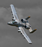 A-10 Thunderbolt. FAIRFORD, UK - JULY 2011: A-10 Thunderbolt II at the Royal International Air Tattoo royalty free stock photos