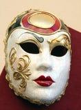 10 venetian maskeringar Arkivfoton