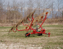 10 Wheel Hay Rake Royalty Free Stock Photography