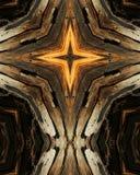 10 wzajemnej ziarna drewna Fotografia Royalty Free