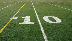 10-Yard Line Royalty Free Stock Photos