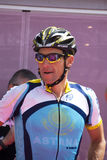 100° giro d Italië - Lance Armstrong Royalty-vrije Stock Fotografie