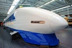 100个日本系列shinkansen 免版税库存照片