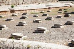 100列大厅然后更多persepolis废墟 免版税图库摄影