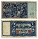 100德国人德国马克 免版税图库摄影