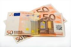 100欧元 免版税库存照片