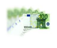 100欧元 免版税图库摄影