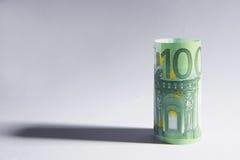 100欧元 免版税库存图片