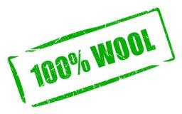 100羊毛 免版税图库摄影