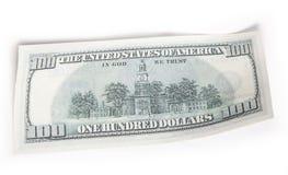 100美元货币 库存照片