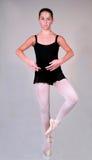 100芭蕾位置 库存图片
