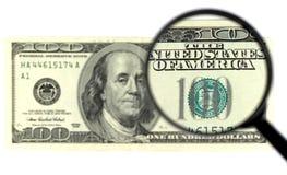 100钞票 免版税图库摄影