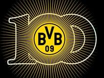 100 år BVB 09 Royaltyfria Bilder