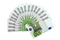 100 ευρώ τραπεζογραμματίων Στοκ φωτογραφία με δικαίωμα ελεύθερης χρήσης