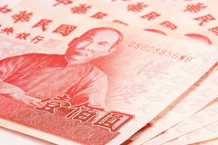 100 νέο δολάριο δισεκατομμύριο της Ταϊβάν. Στοκ Φωτογραφία
