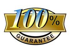 100 гарантированное соответствие Стоковое фото RF