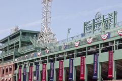 100 год парка boston fenway massachusetts старых Стоковое Изображение RF