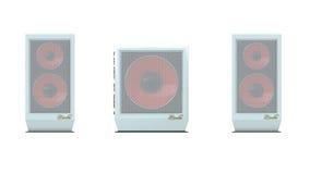 100 дикторов mx гибочного устройства передних Стоковое фото RF