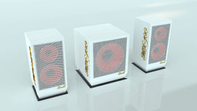 100 дикторов mx гибочного устройства Стоковые Фото
