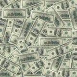100 долларов деноминаций Стоковая Фотография