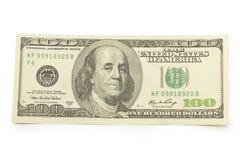 100 долларов, деньги Стоковые Фото