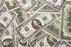 100 долларов примечаний Федеральной Резервной системы Стоковое Фото