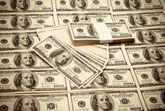 100 долларов США Стоковая Фотография