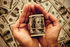 100 долларов США Стоковые Изображения