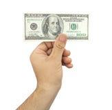 100 долларов Стоковое фото RF