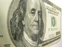 100 долларов Стоковая Фотография RF