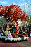 100 древесин акра на параде праздника. Стоковое Изображение RF
