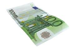 100 евро Стоковое фото RF