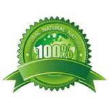 100 естественное Иллюстрация штока