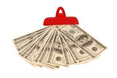 100 куч дег счетов доллара Стоковые Изображения RF