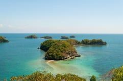 100 национальных парков островов Стоковая Фотография