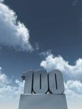 100 одних Стоковые Фото